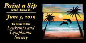 Paint n Sip Party for the Leukemia & Lymphoma Society @ The Cinder